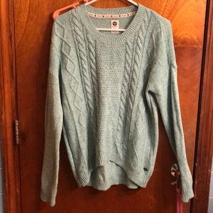 Roxy sweater teal